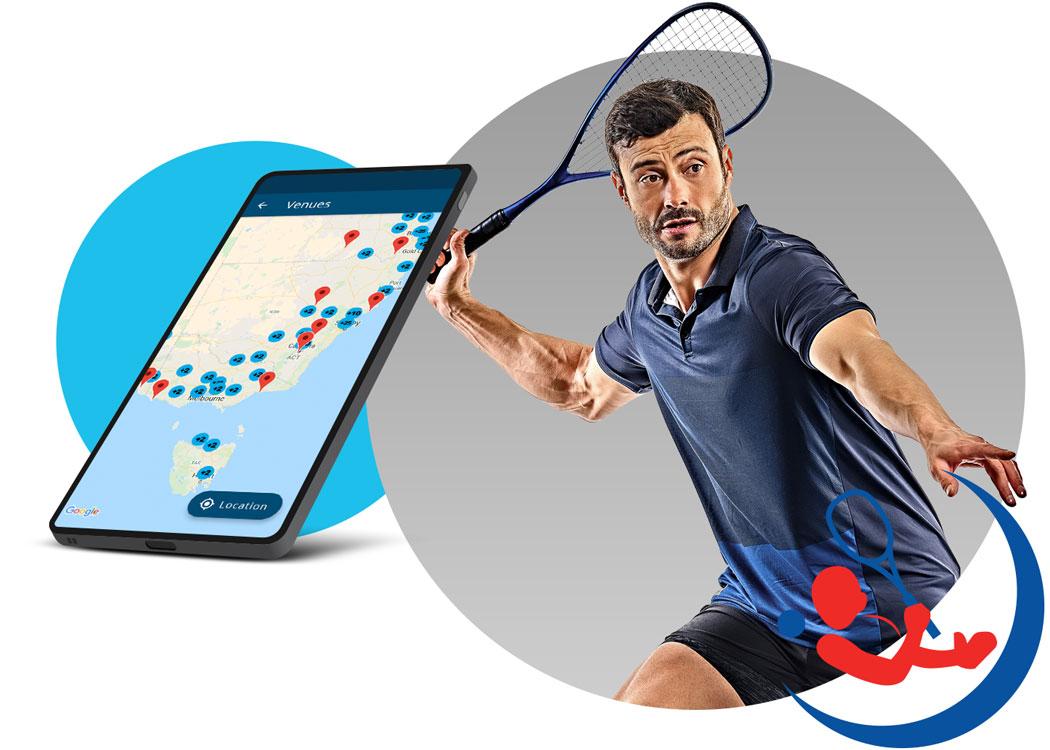 Squash Players App